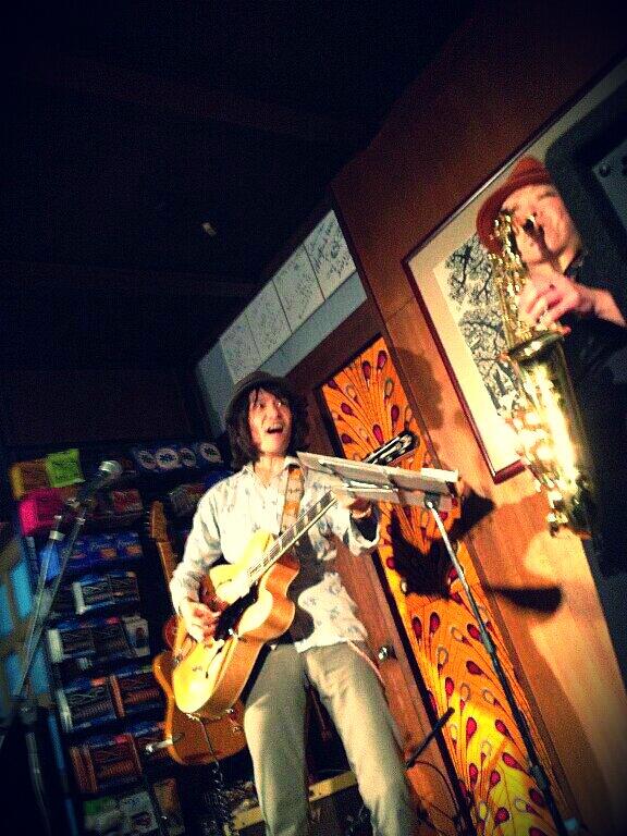 7/15(月)上野誠&広瀬波子LIVE<br />  ★in下北沢<br />  MOSAiC
