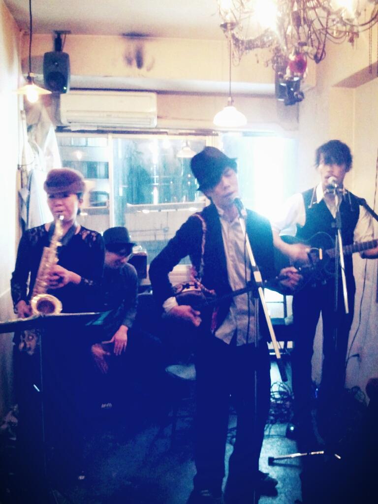 5/3(土)渋谷はすとばらparty<br />  !★Deracine Swing<br />  ライブ♪