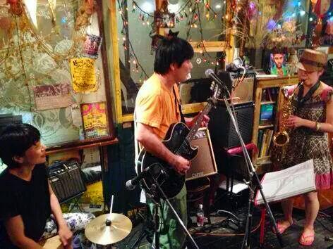 7/14(月)下北沢440★BLANKET GROUP saxで参戦♪