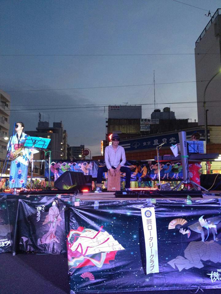 2014年蕨はたまつり★ピリ空トリオ鳴らします!