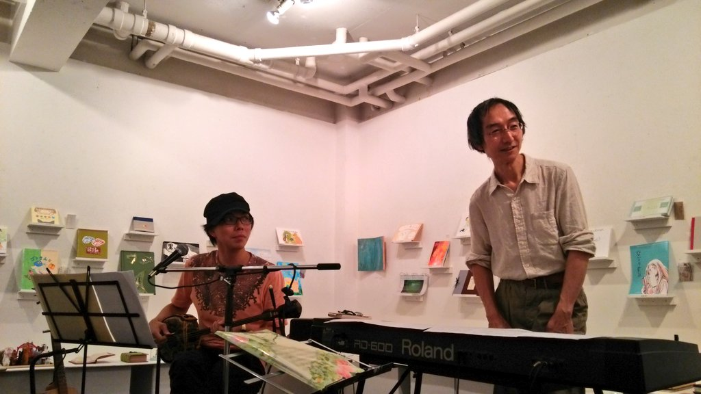 THE LIBRARY 2014~川戸郷史×木村裕トークライブ【Music on the Books】