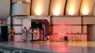 ナマステインディア2014★アイヌ舞踊