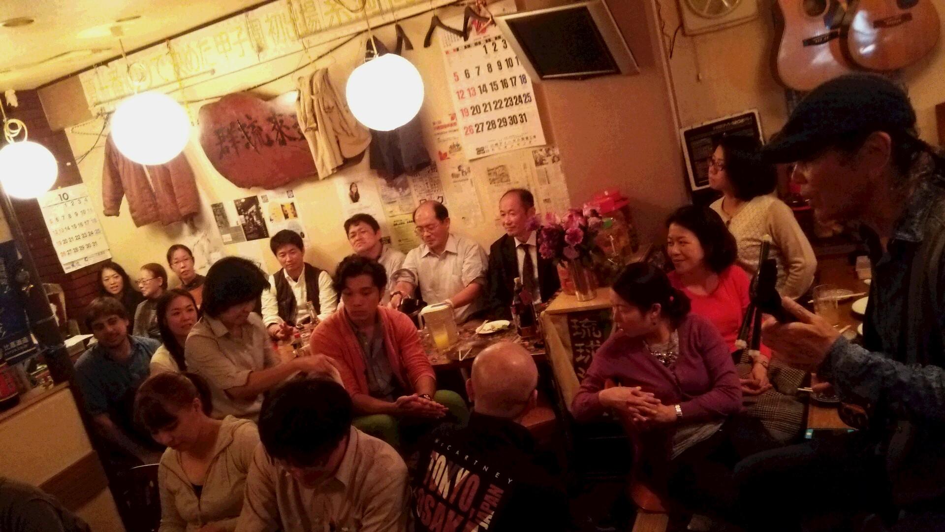 2014阿佐ヶ谷jazzストリート★平安隆さんとのライブ終わりました