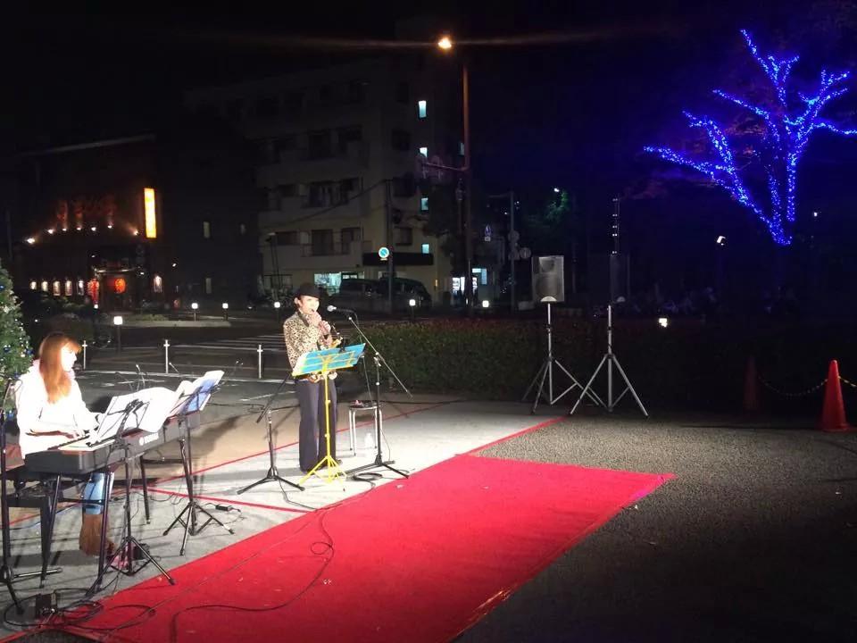 ピリ空★上戸田イルミネーション~の北戸田居炉居炉ライブ