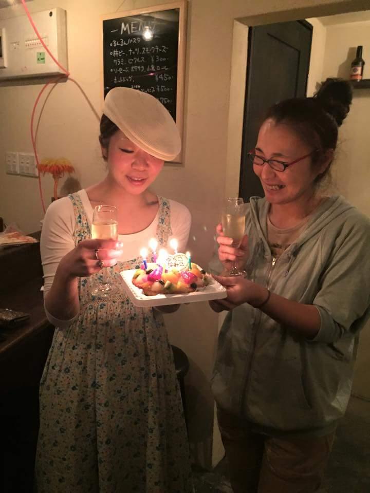 千歳船橋88saloon に北海道大集合★本当にありがとうございました~34歳になりました!