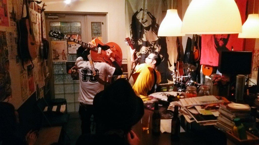 上野誠&shy ライブへ熱き東中野じみへんの夜♪