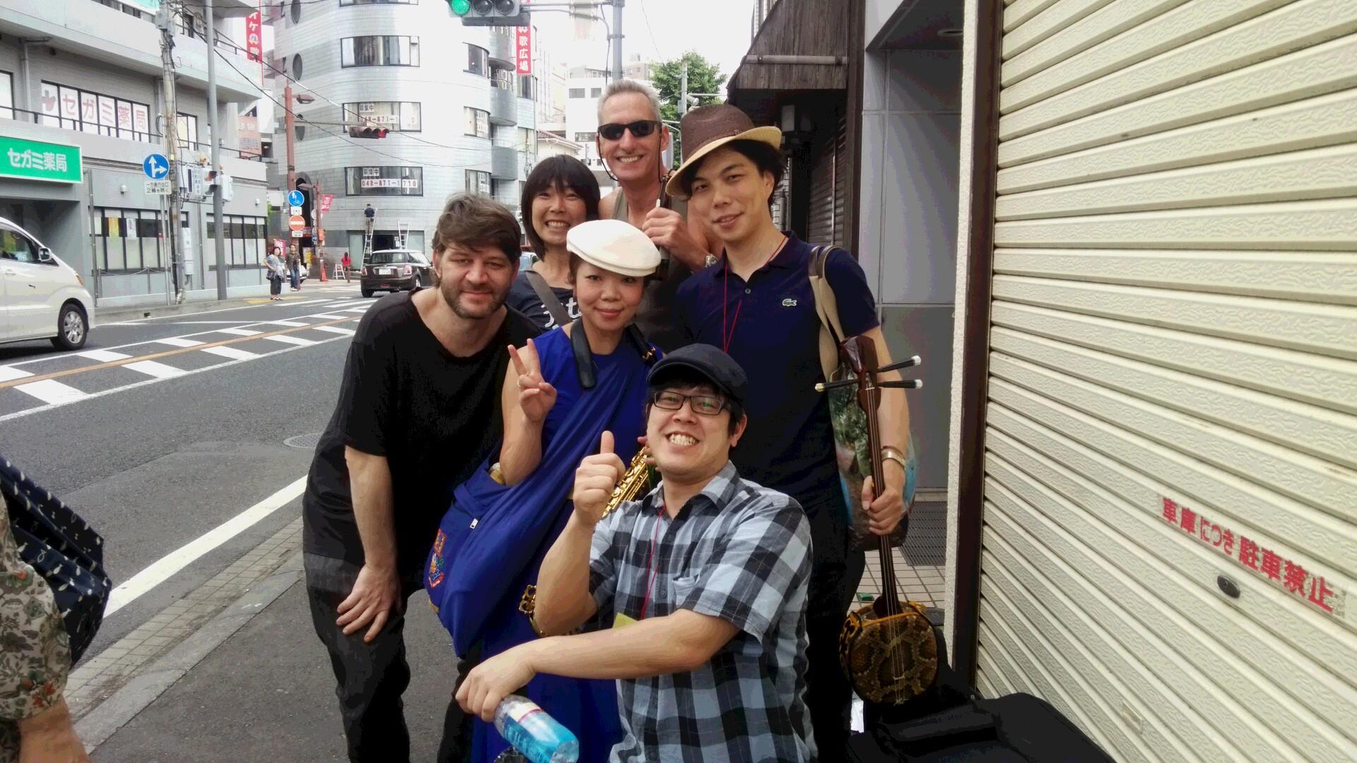 北浦和swing festival vol, 10ありがとうございました★syunrai. 春雷初登場~こっそりちくわとなみこ
