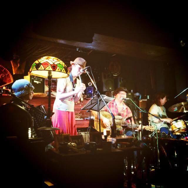 高円寺稲生座★あおやぎとしひろwith Kumiko さんとご一緒させていただいた夜