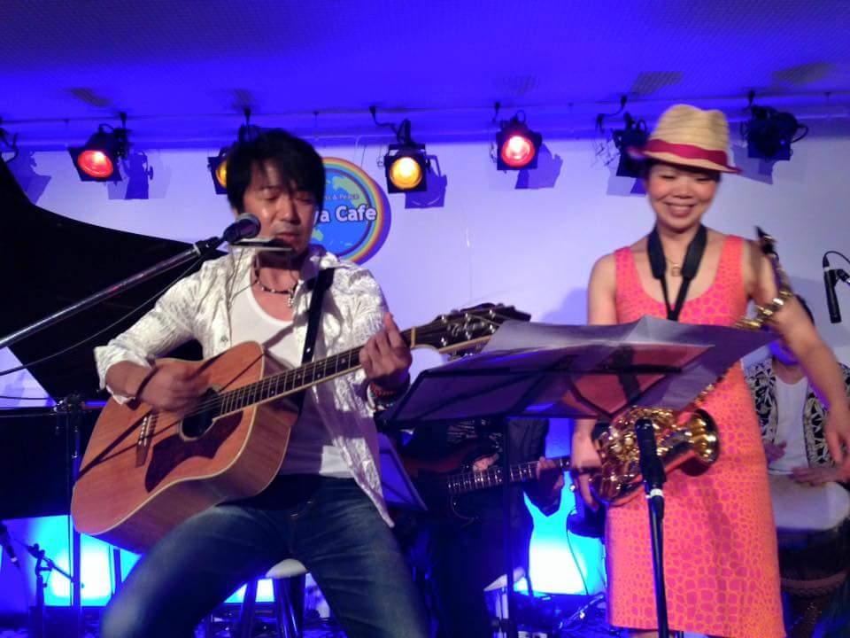 YAMATO さんのサポートにてMiiya Cafe 出演してきました!
