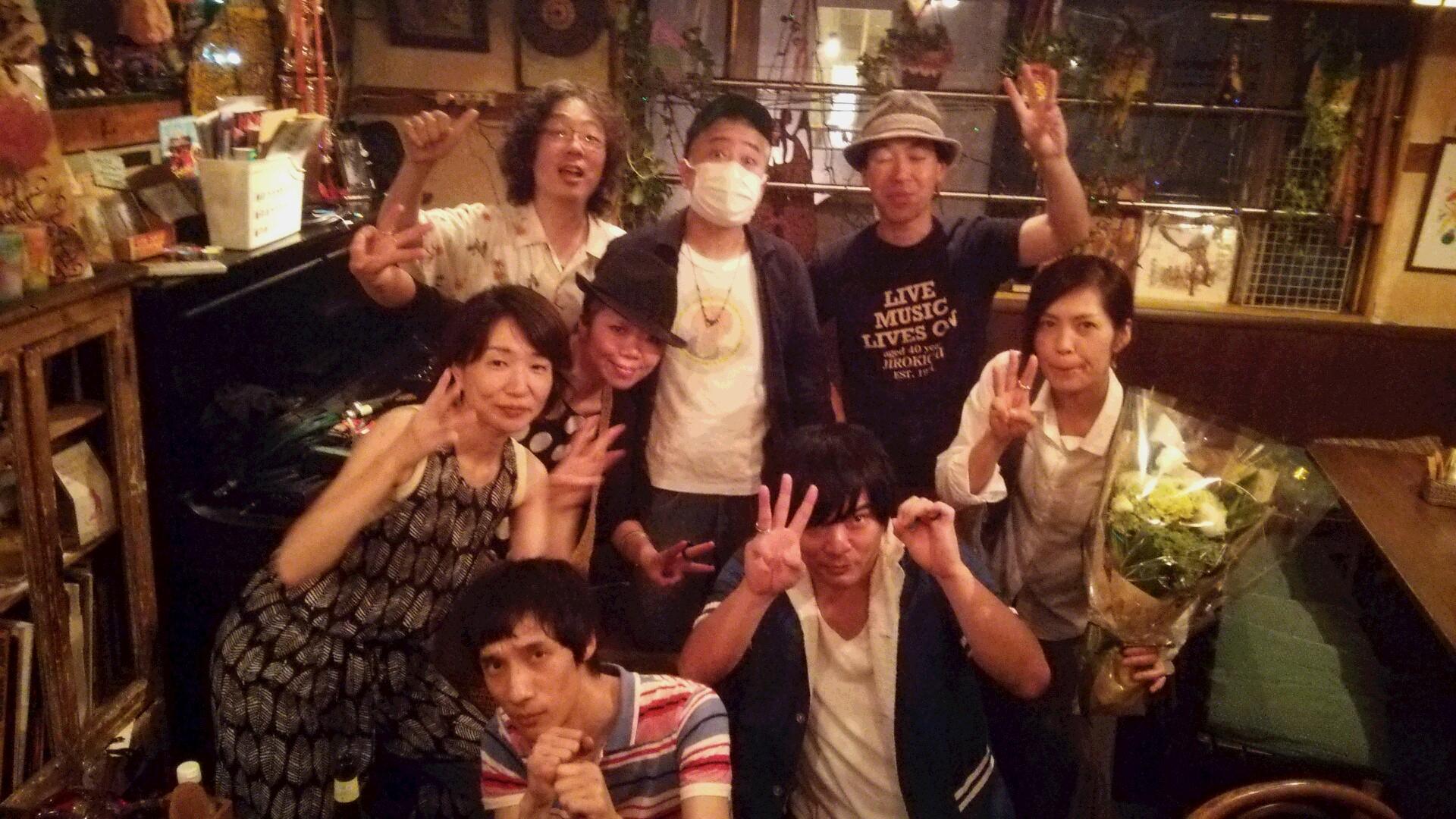 下北沢NEVER NEVER LAND ではラストのサンデーソングライターズでした★ありがとうvol, 30