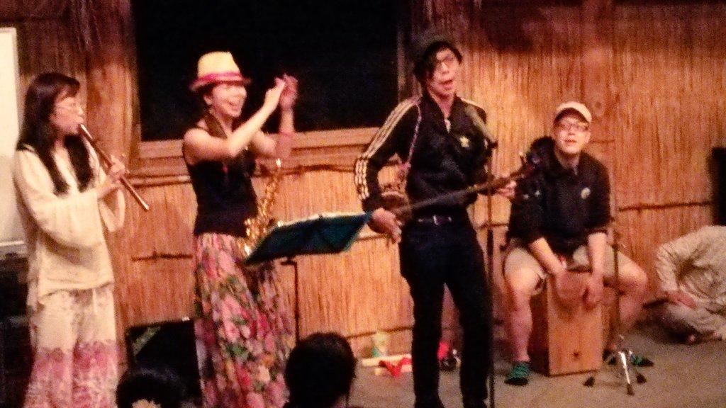 2015チプサンケ前夜祭★今年も歌って踊って酔って!
