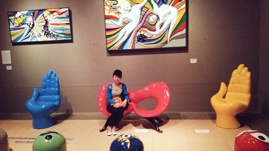 岡本太郎美術館へのぶらり♪