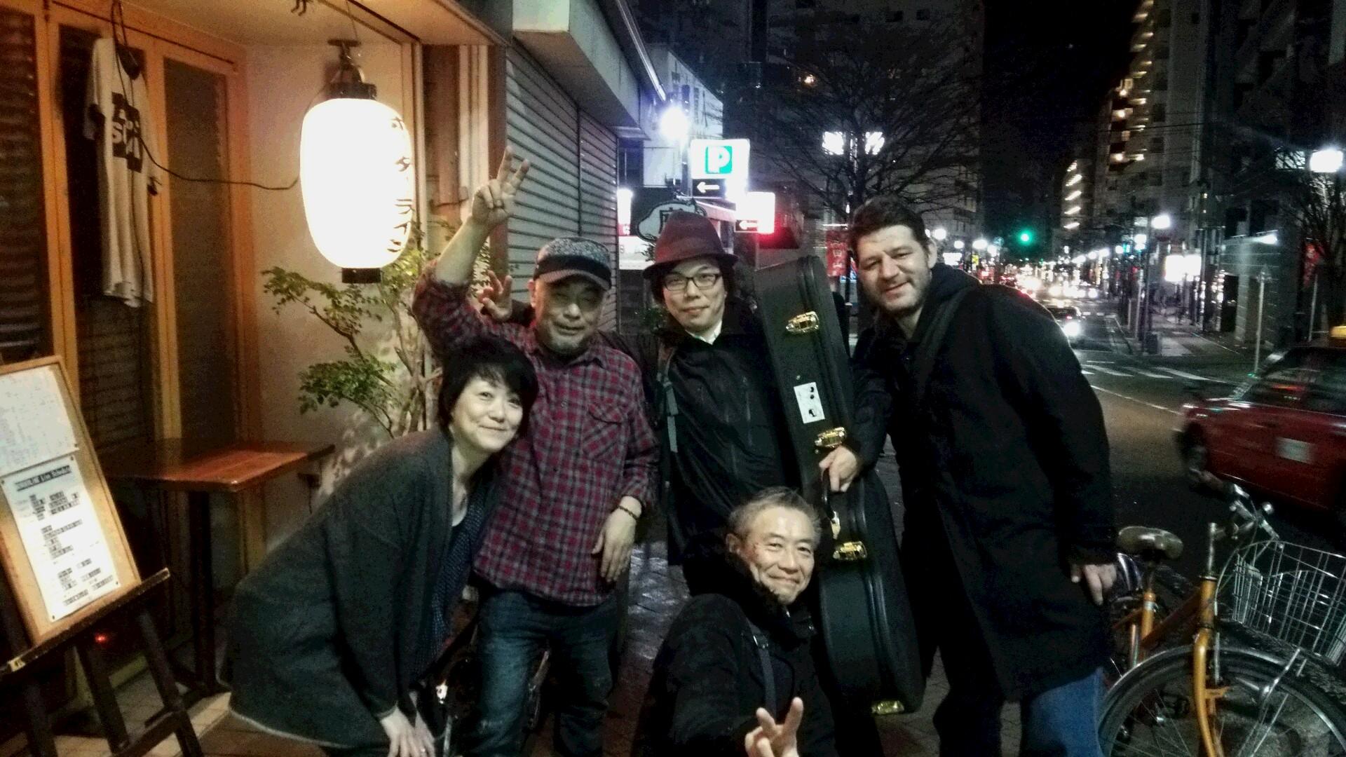 野毛と狸小路のコラボな夜&横浜観光★才谷屋のモーリーさんとあんさんが来ました!