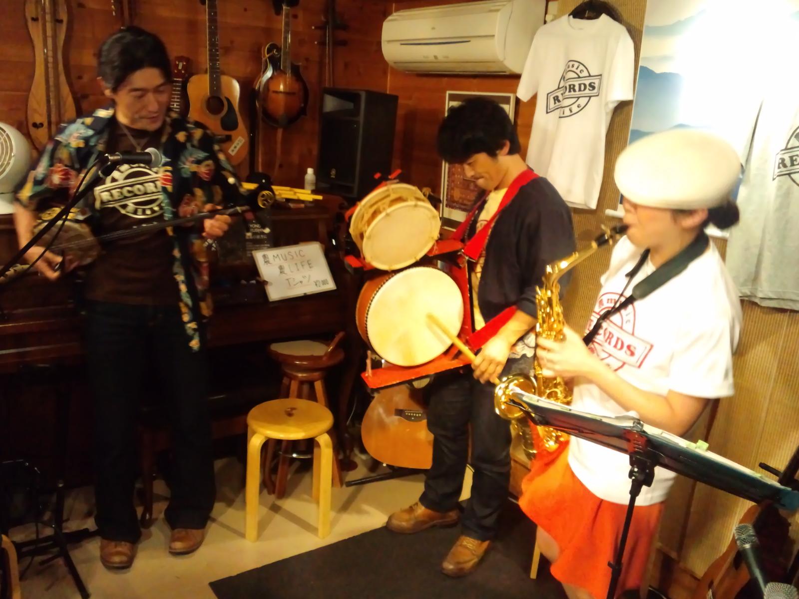いよいよ明日3/9(水)~農music農liferecords+広瀬波子★渋谷 aubeshibuya