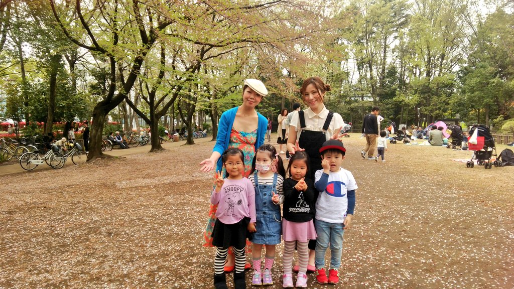 4/10(日)戸田 植木市 花フェスタにてピリ空でした!
