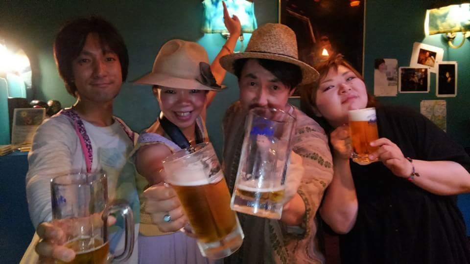 かべっこ波子★前橋ライブ居酒屋水星ありがとう