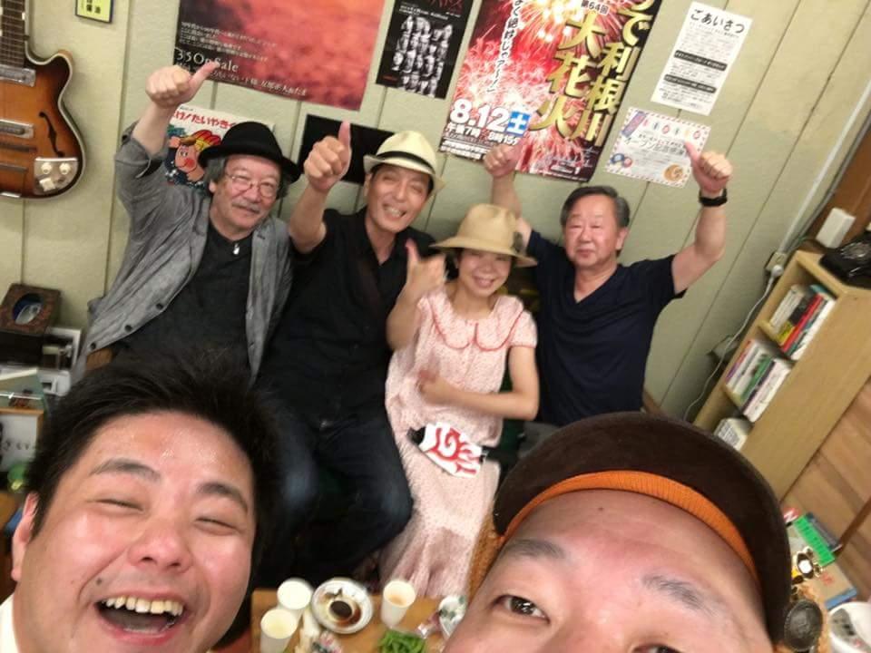 2017summer 8/6新取手スクールショップおかみ★ちくわとなみこ